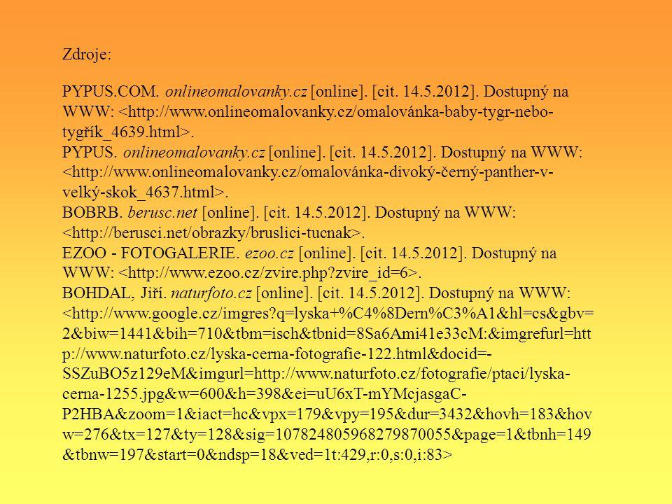 PYPUS.COM. onlineomalovanky.cz [online]. [cit. 14.5.2012].