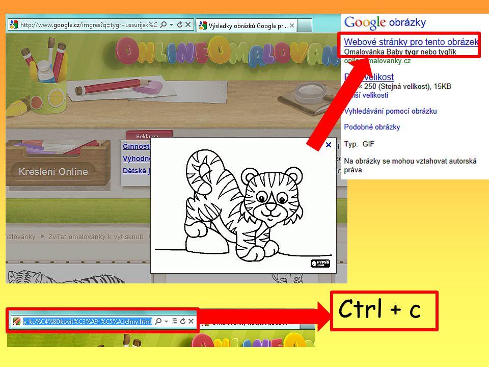Úkol: Zjistěte a do otevřeného dokumentu Word zapište nebo zkopírujte www adresy k těmto obrázkům: 1.2.