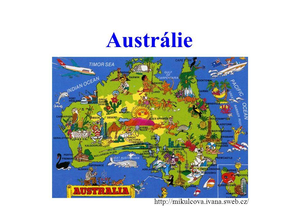 Austrálie http://mikulcova.ivana.sweb.cz/