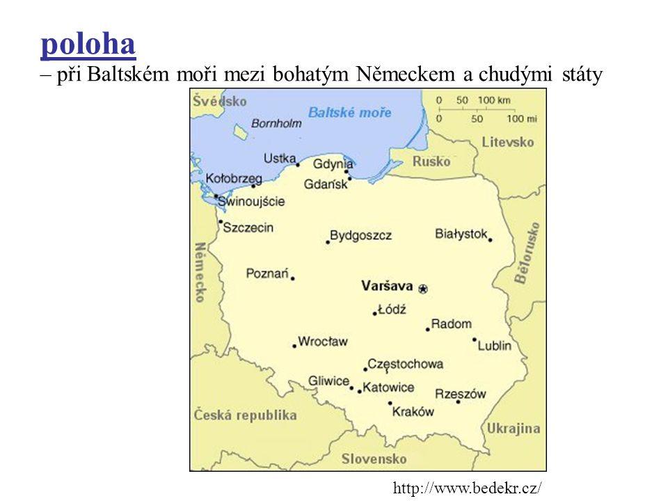 základní údaje rozloha: 312 000 km 2 obyvatelstvo: 39 000 000 st. zřízení: republika úř. jazyk : polština organizace: OSN, EU, NATO hl. město: Varšava