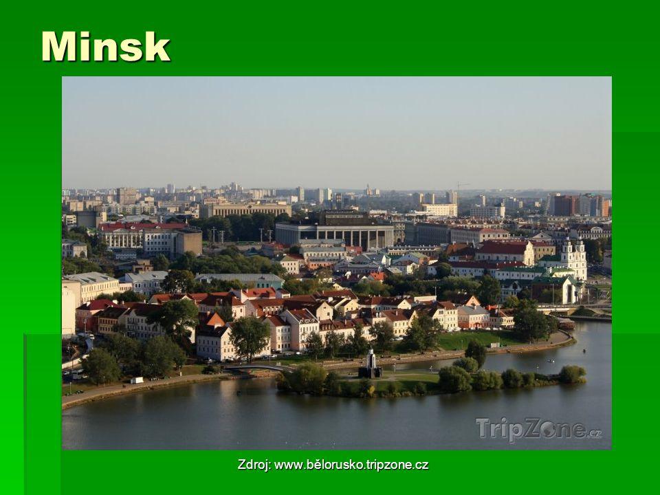 Minsk Zdroj: www.bělorusko.tripzone.cz