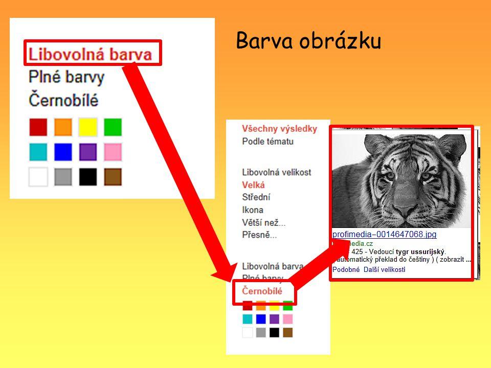 Barva obrázku