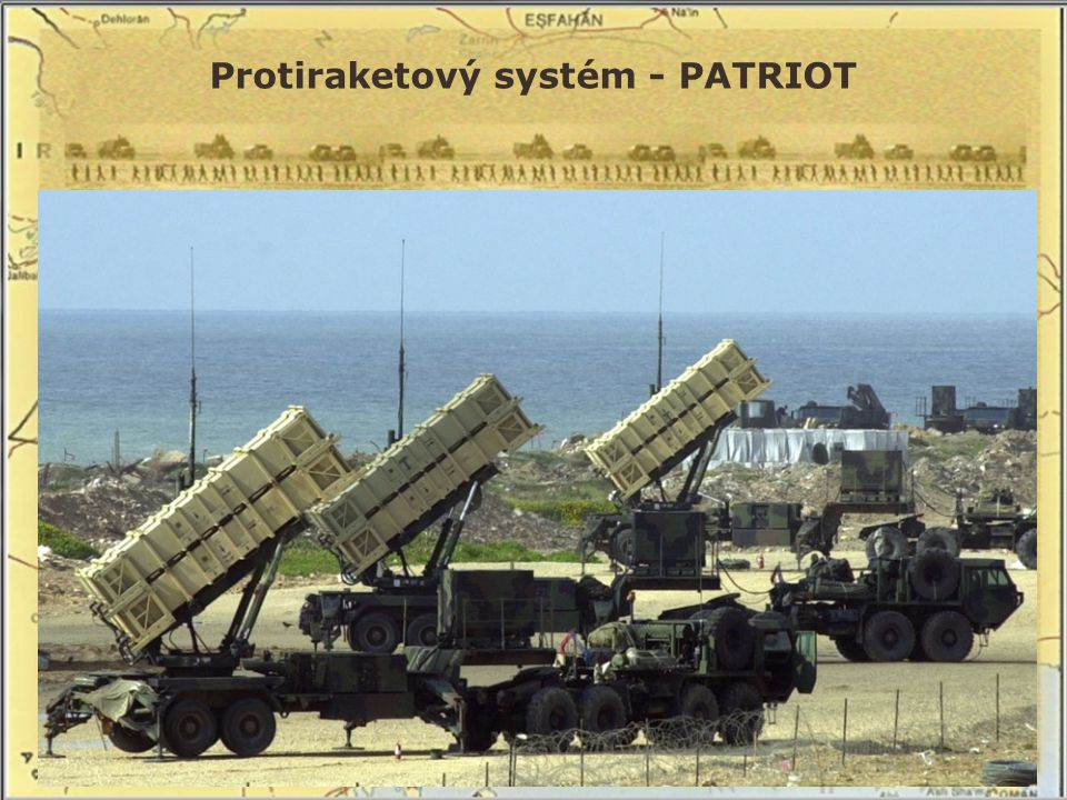 Irák zaútočil raketami na Izrael ve snaze získat větší arabskou podporu, avšak Izrael neodpověděl protiakcí => Husajnův plán zmařen, zejména díky americkému protiraketovému systému Patriot RAKETOVÝ ÚTOK NA IZRAEL – RAKETY SCUD