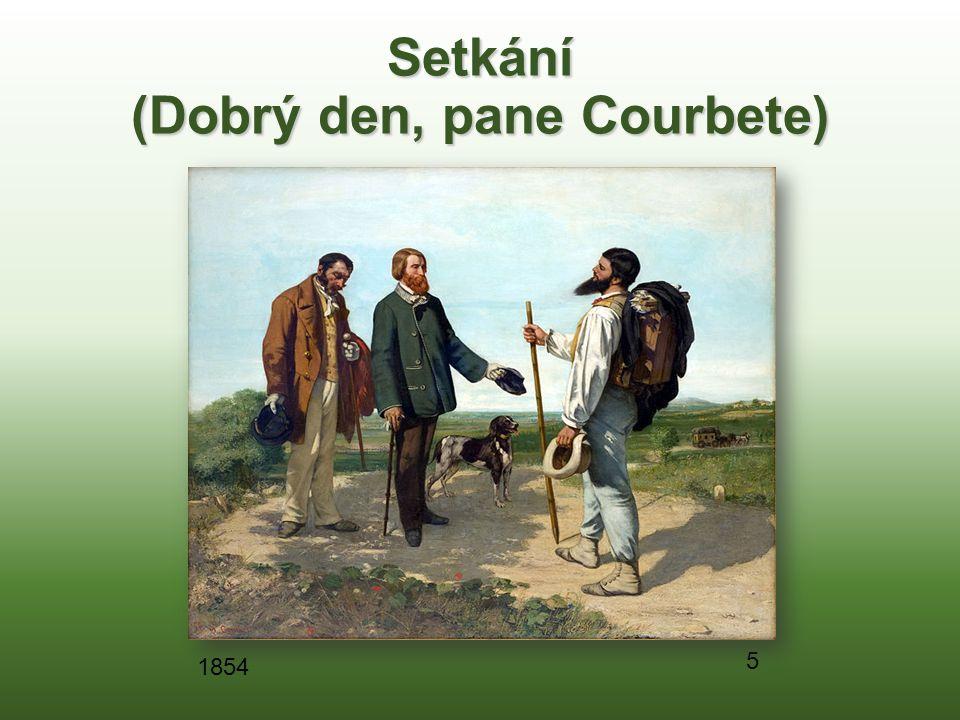 Setkání (Dobrý den, pane Courbete) 5 1854