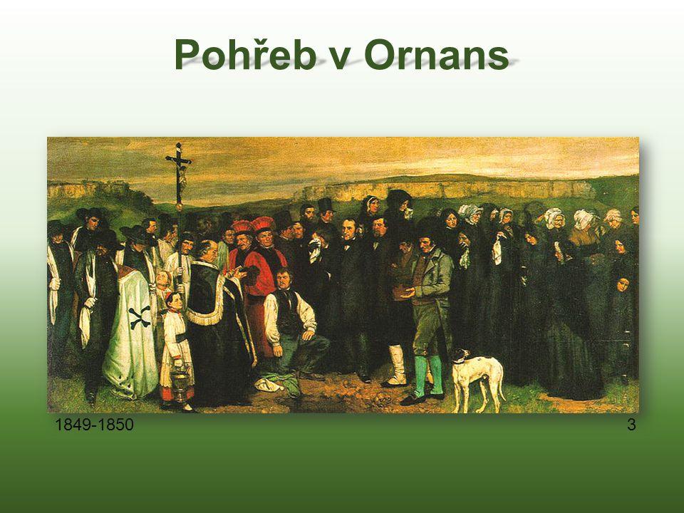 Pohřeb v Ornans 3 1849-1850