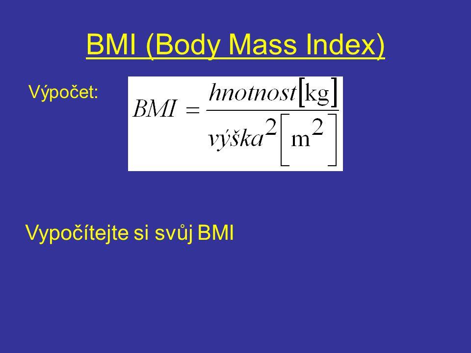 BMI (Body Mass Index) Výpočet: Vypočítejte si svůj BMI