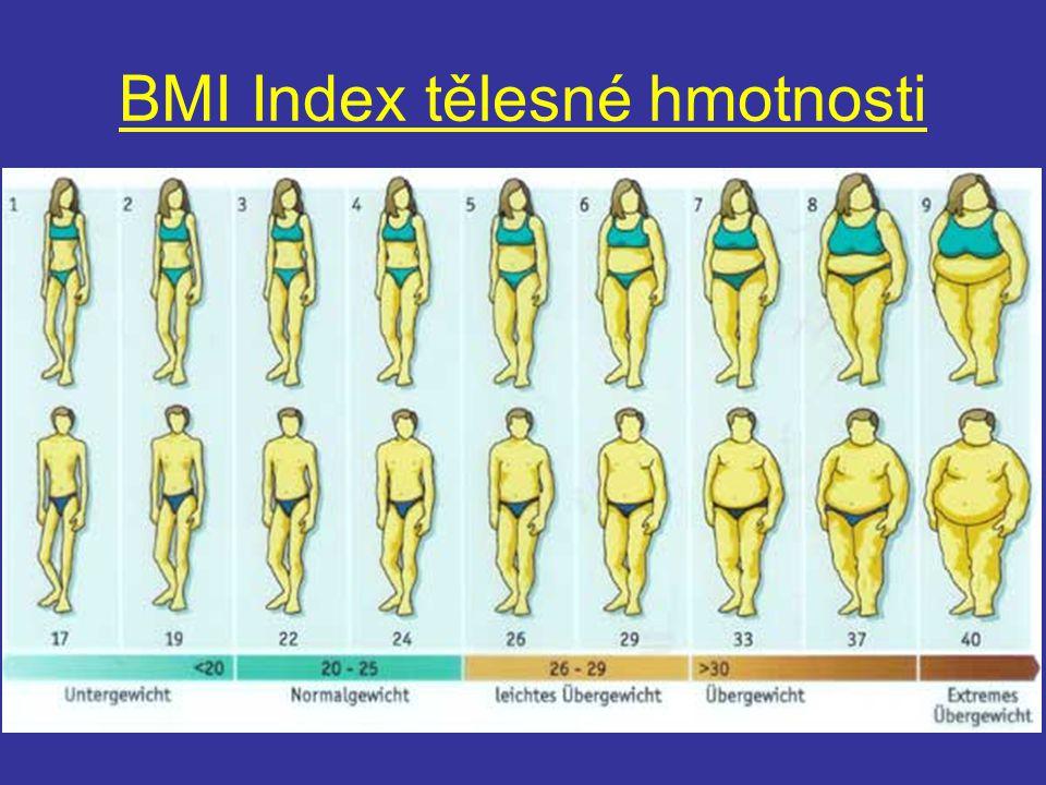 BMI Index tělesné hmotnosti