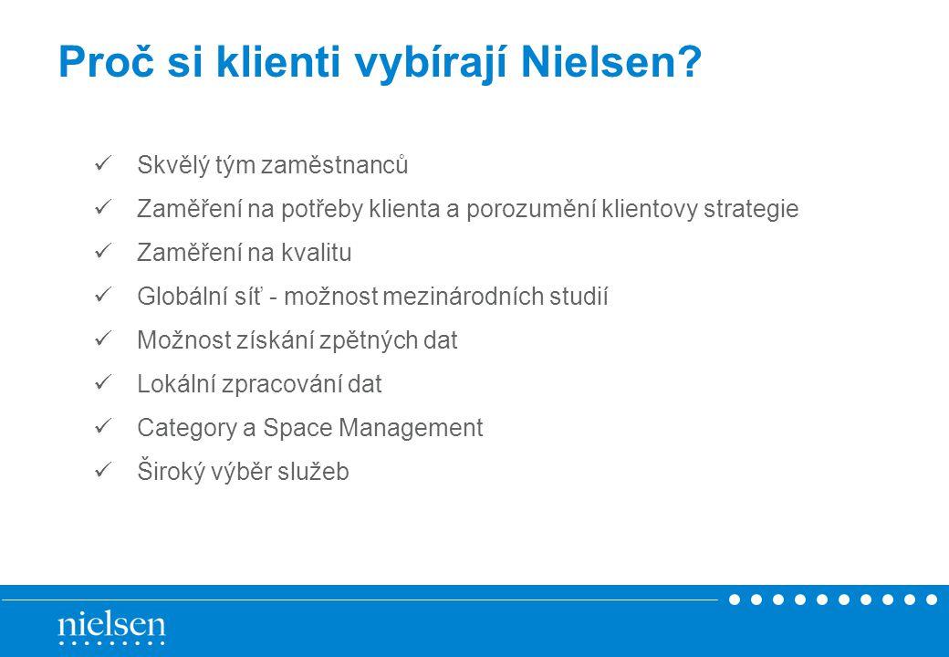Proč si klienti vybírají Nielsen.