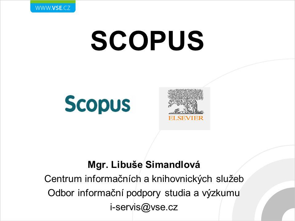 SCOPUS Mgr.