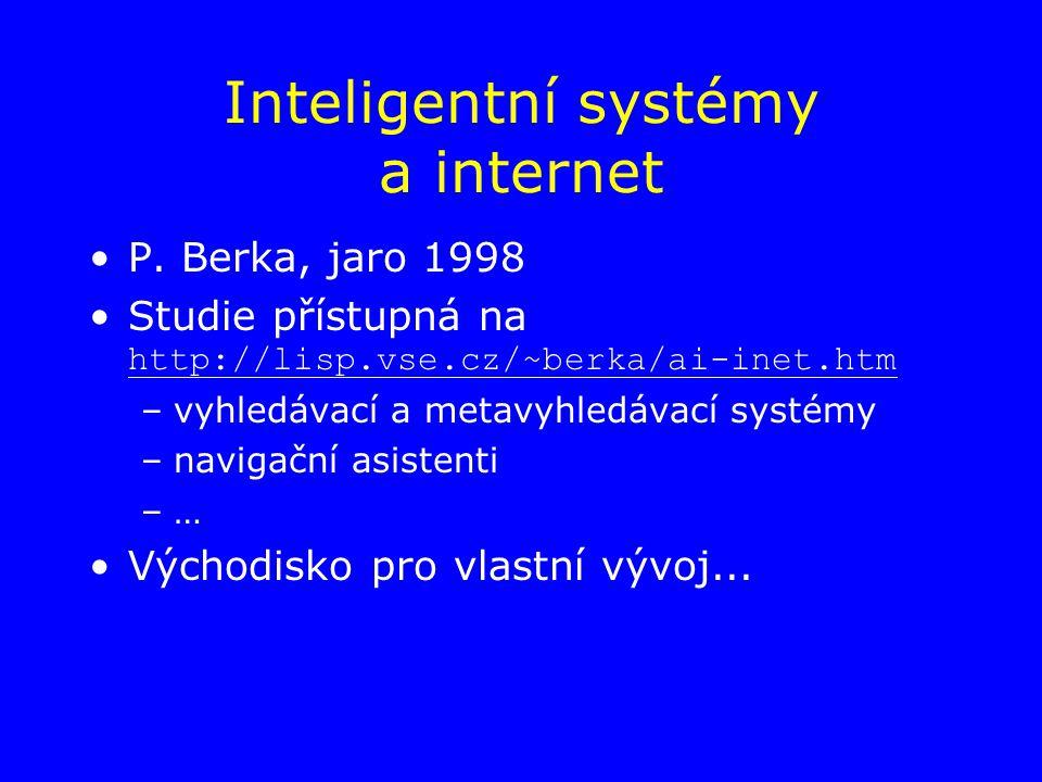 Inteligentní systémy a internet P.