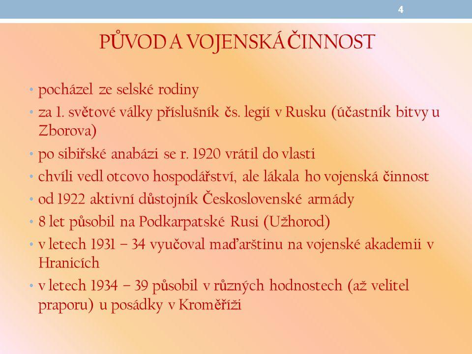 Č INNOST ZA OKUPACE A ZA 2.SV.