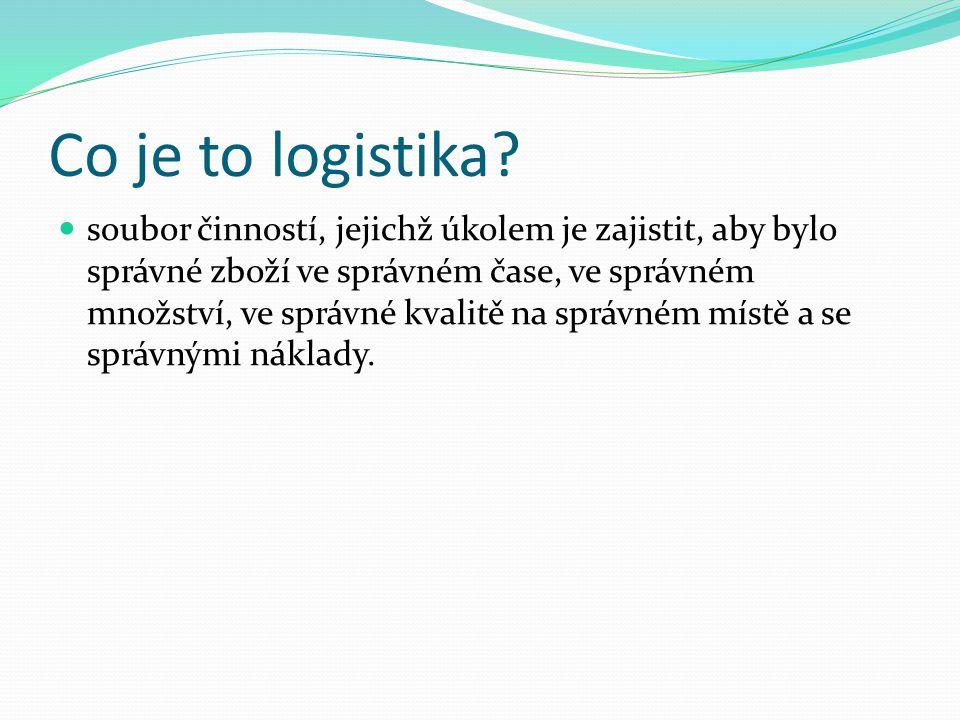 Co je to logistika.