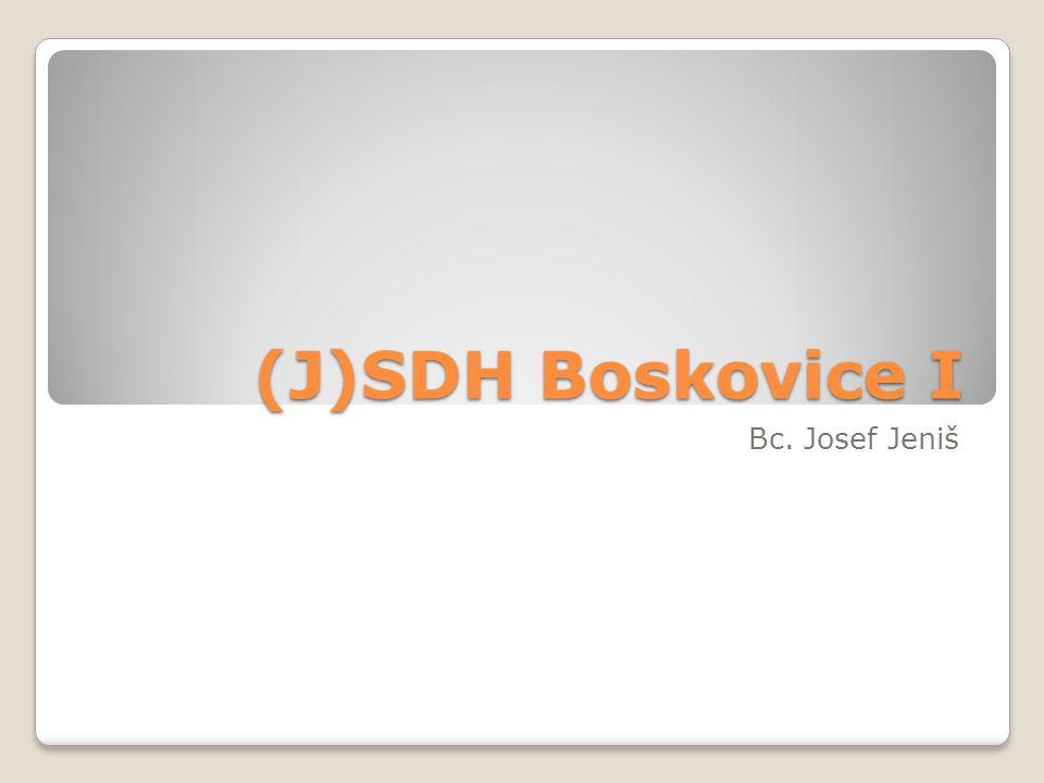 SDH/JSDH Sbor dobrovolných hasičů ◦Občanské sdružení ◦Kulturní/společenské akce ◦Soutěže ◦Stovky členů Jednotka sboru dobrovolných hasičů ◦Výjezdová jednotka SDH ◦Zřizovatel je obec ◦Cca 15 členů ◦Zásahy u mimořádných událostí