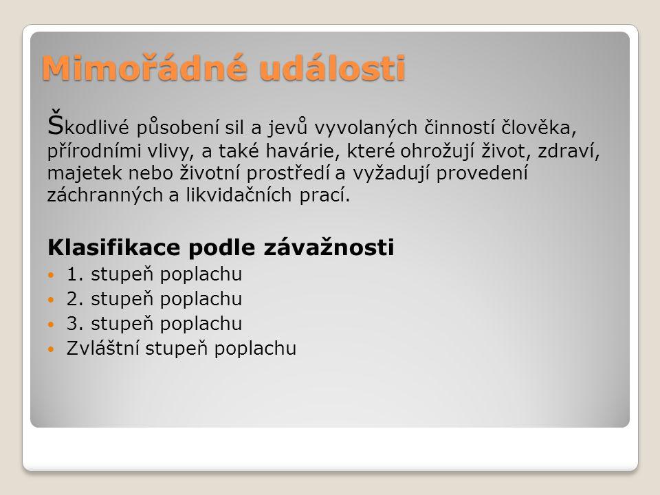 Jednotka požární ochrany (JPO) JPO I  HZS ČR (profesionální sbory)  Výjezd do 2 minut JPO II  JSDH obce (tzv.