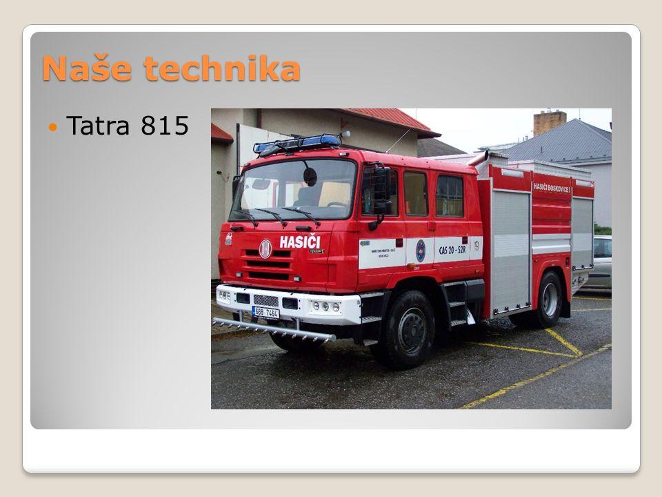 Naše technika Tatra 815