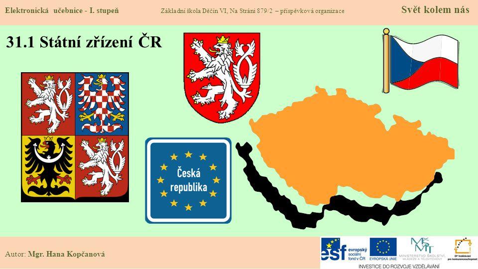 31.2 Státní zřízení Elektronická učebnice - I.