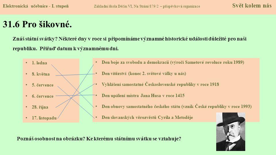 31.7 CLIL Elektronická učebnice - I.