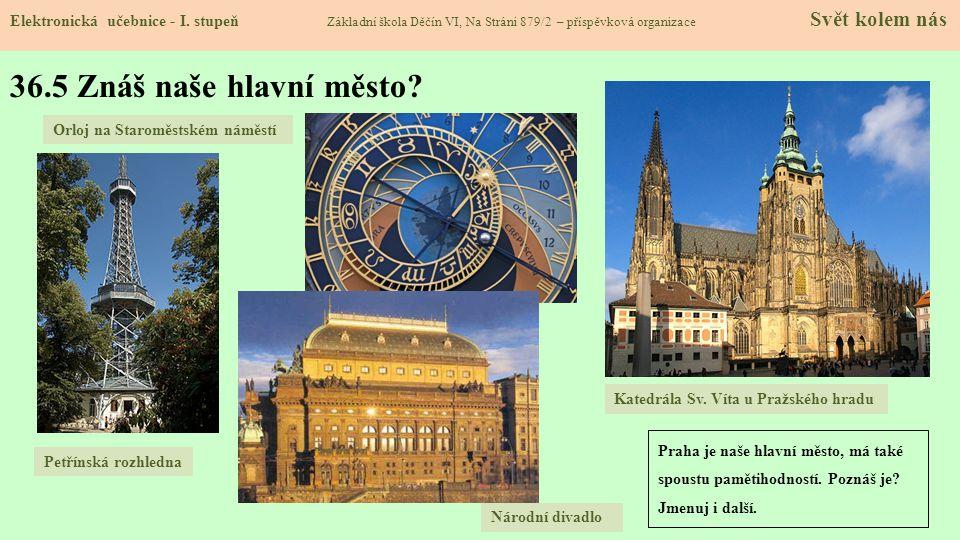 36.6 Pro šikovné – kulturní a historické památky Elektronická učebnice - I.