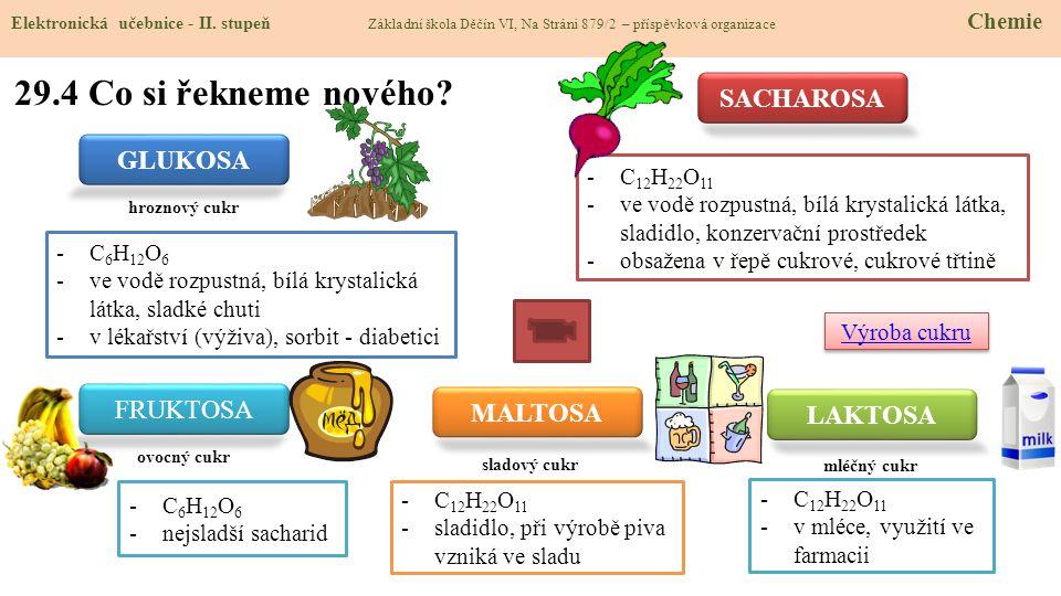 29.4 Co si řekneme nového.Elektronická učebnice - II.