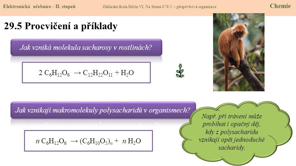 29.5 Procvičení a příklady Elektronická učebnice - II.