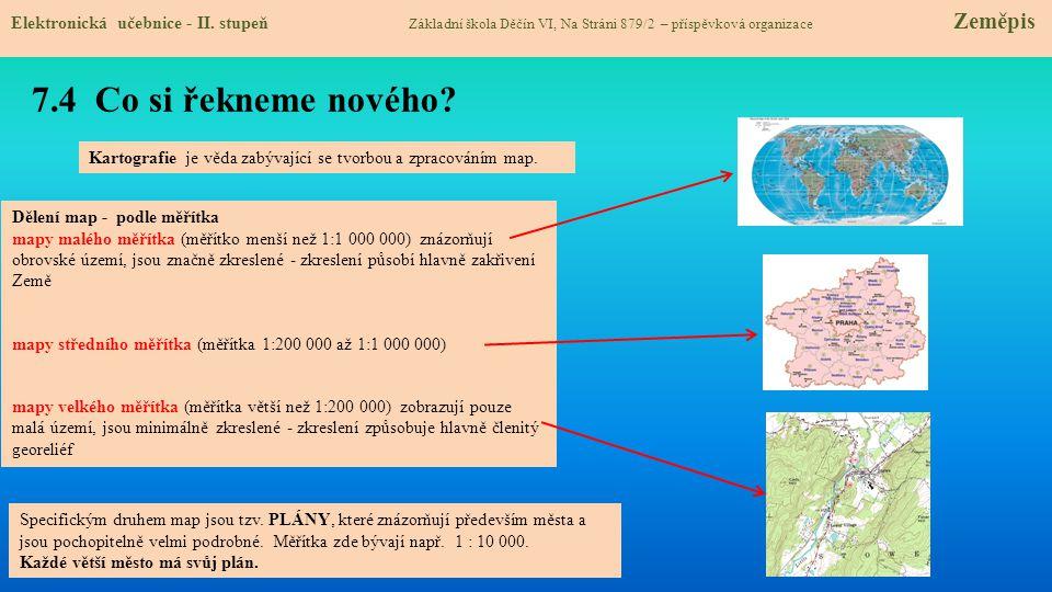 7.5 Procvičení a příklady Elektronická učebnice - II.