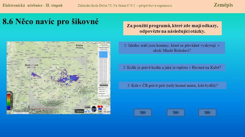 8.7 CLIL Elektronická učebnice - II.