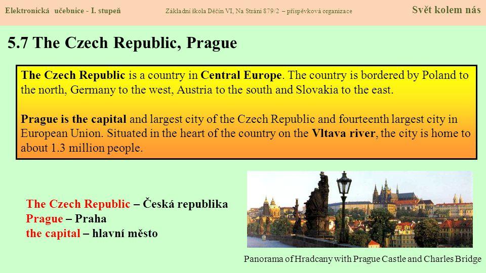5.6 Praha Elektronická učebnice - I.