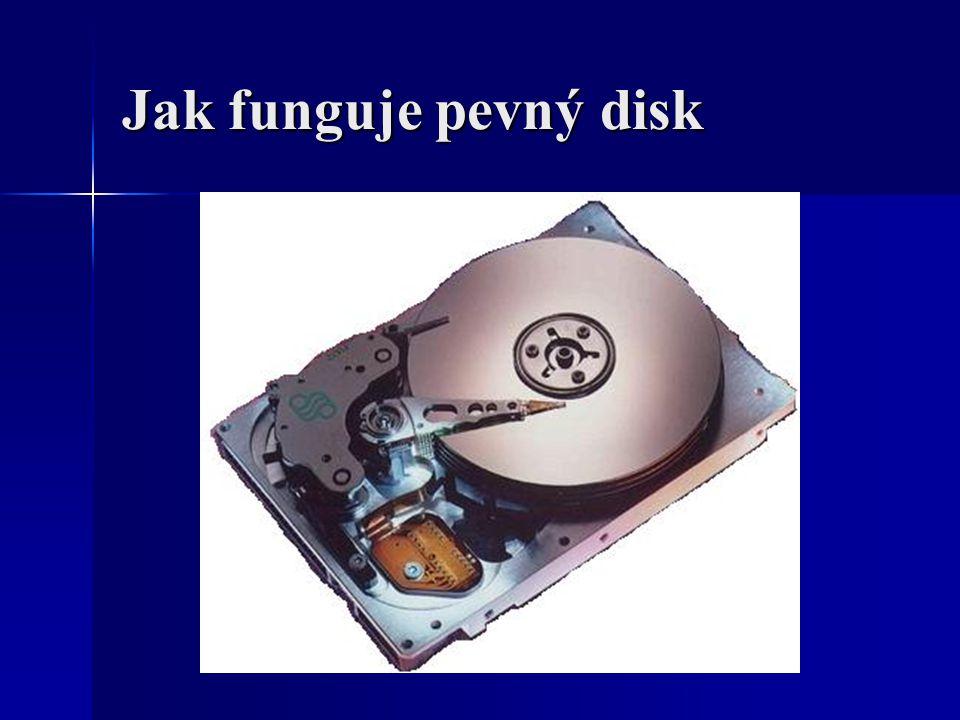 Jak funguje pevný disk