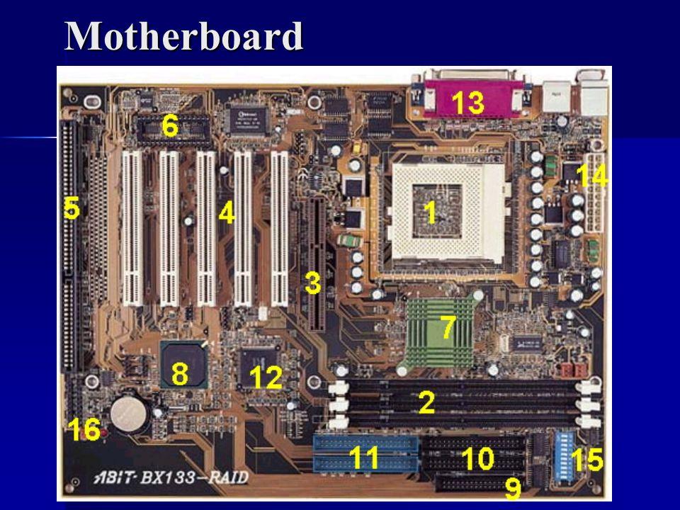 AGP (Advanced Graphics Port) Rozšiřující slot výhradně pro umístění grafického akcelerátoru.