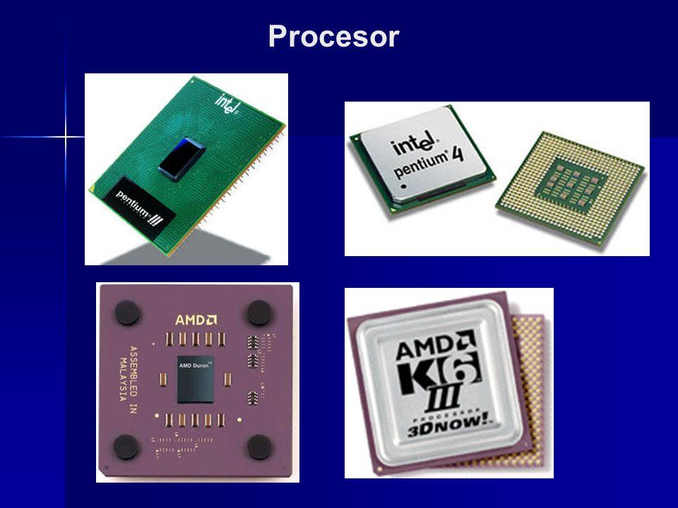 Procesor Procesor (neboli CPU – Central Processing Unit) je řídící jednotka počítače, představuje hlavní výpočetní sílu, která zpracovává a provádí instrukce programů.