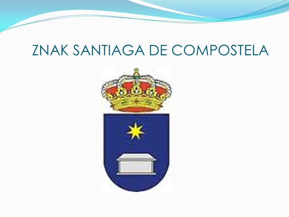 ZNAK SANTIAGA DE COMPOSTELA