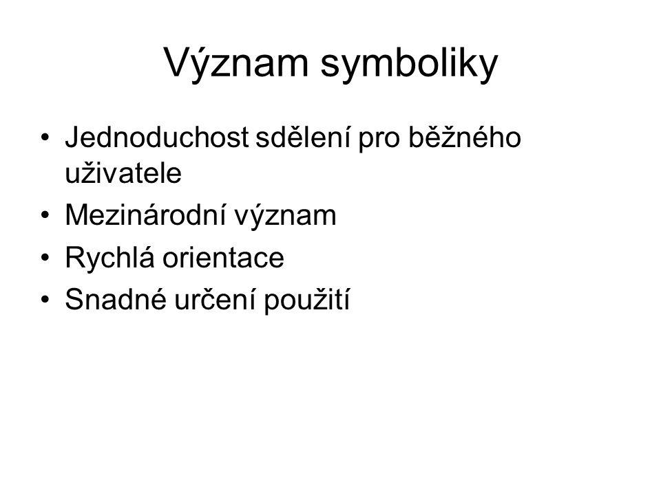 Piktogramy = komunikace 21. století Význam piktogramů na čalouněných výrobcích