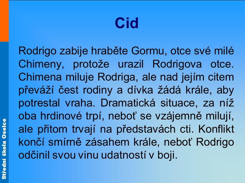Střední škola Oselce Cid