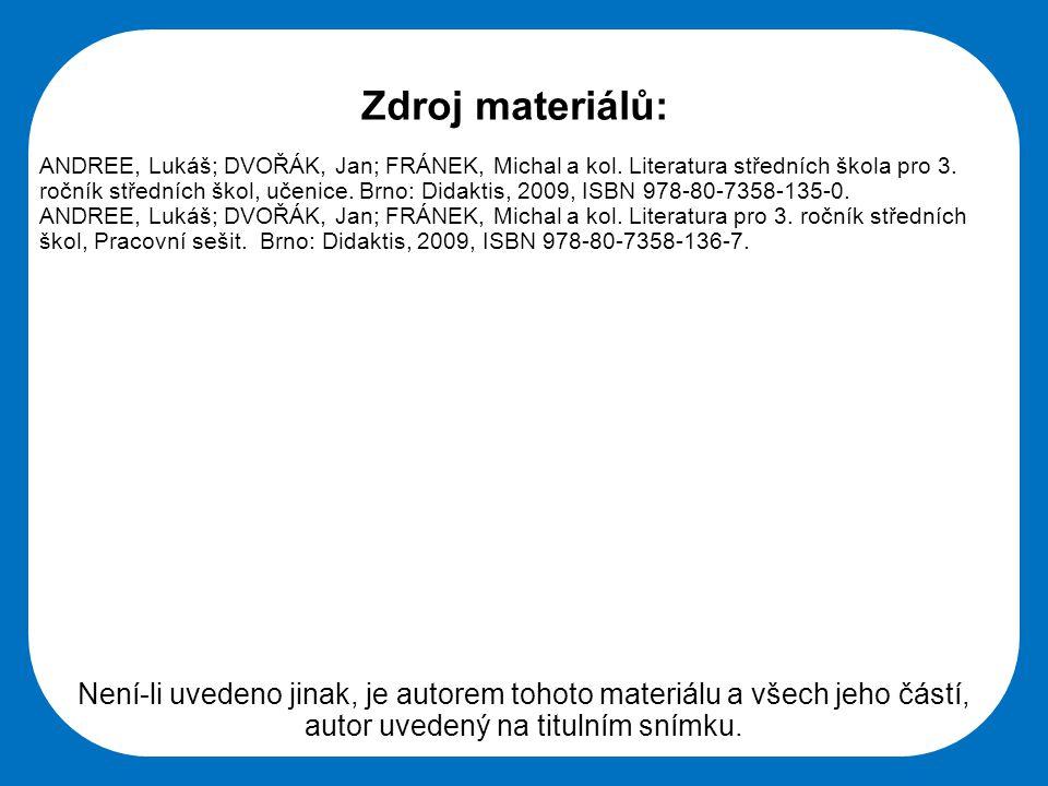 Střední škola Oselce Není-li uvedeno jinak, je autorem tohoto materiálu a všech jeho částí, autor uvedený na titulním snímku.