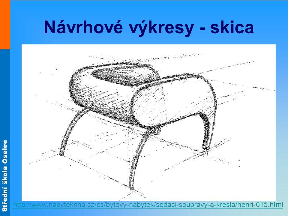 Střední škola Oselce Návrhové výkresy - skica http://www.nabytekriha.cz/cs/bytovy-nabytek/sedaci-soupravy-a-kresla/henri-615.html