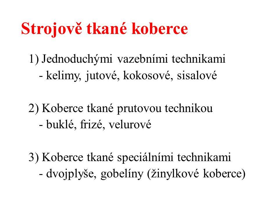 Nástěnné koberce Ručně vázané koberce Tapisérie Gobelíny