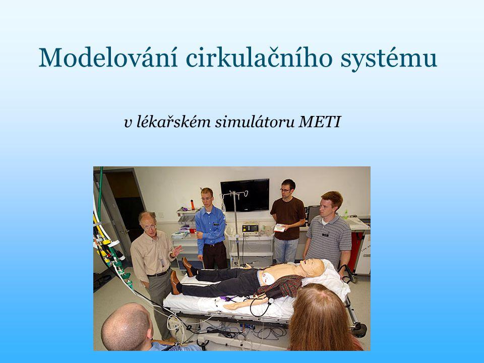 Modelování cirkulačního systému v lékařském simulátoru METI