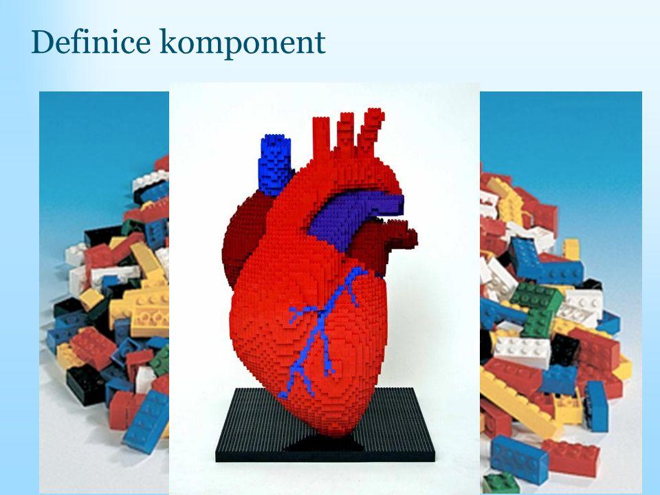 Definice komponent