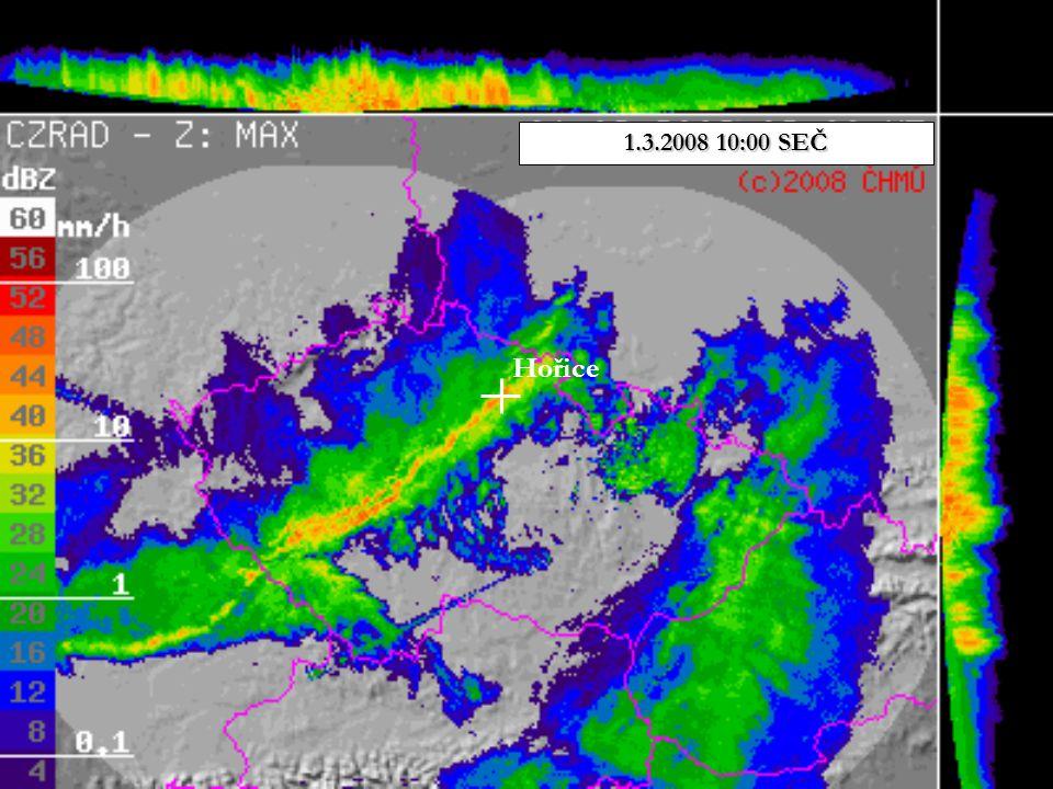 Hořice 1.3.2008 10:00 SEČ