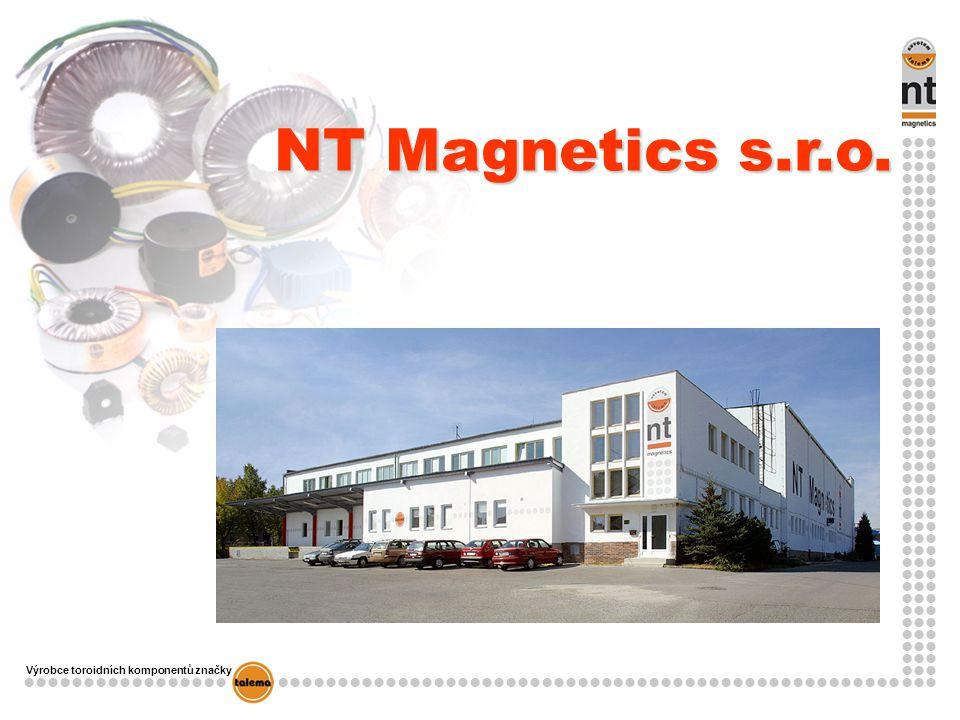 Výrobce toroidních komponentů značky NT Magnetics s.r.o.