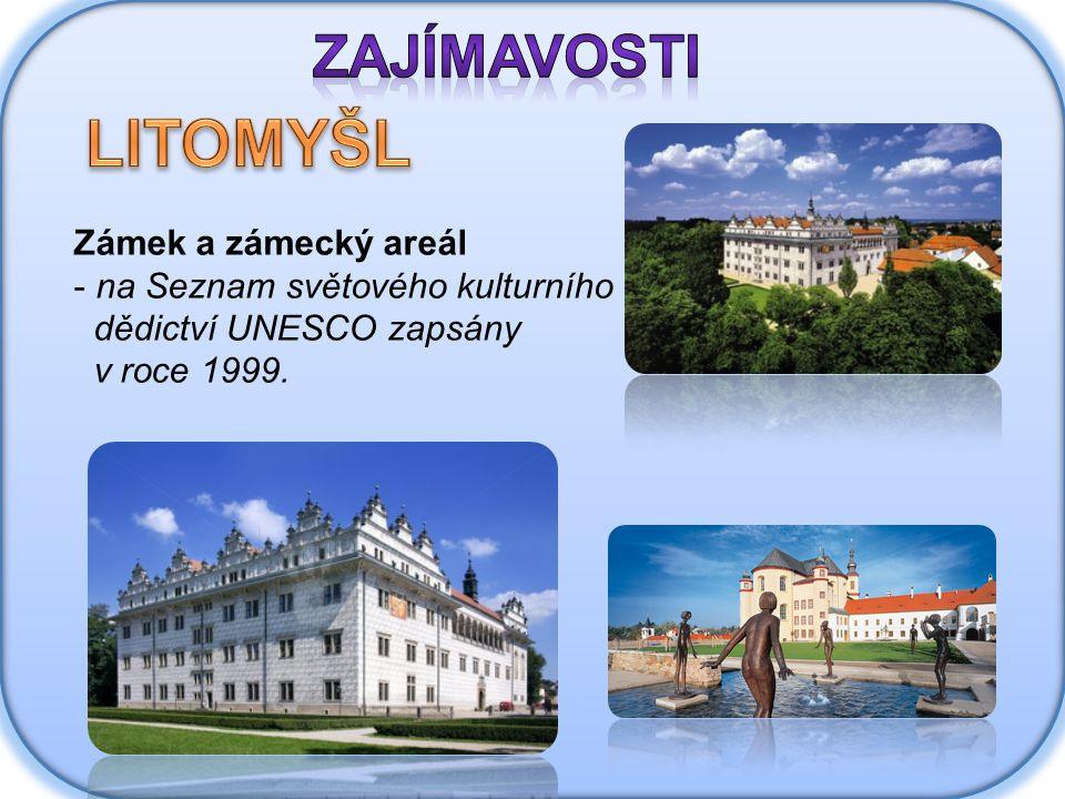 Zámek a zámecký areál - na Seznam světového kulturního dědictví UNESCO zapsány v roce 1999.