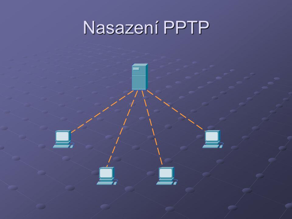 Nasazení PPTP