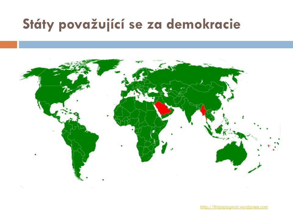 Státy považující se za demokracie http://filipspagnoli.wordpress.com