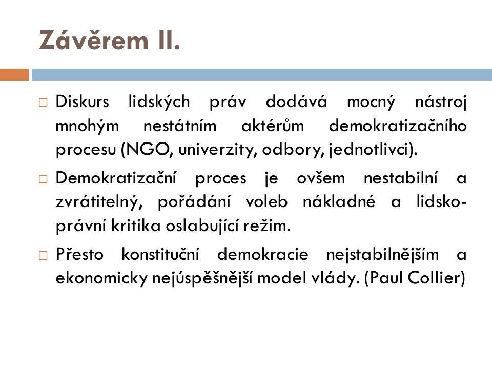Závěrem II.