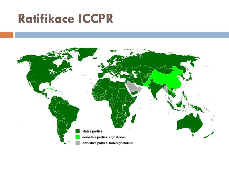 Ratifikace ICCPR