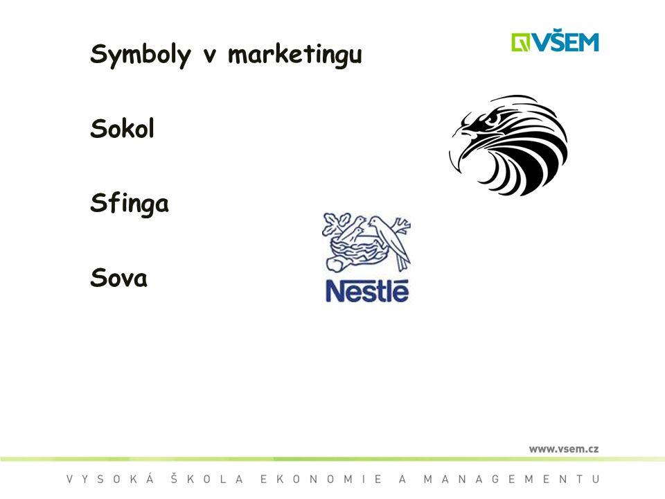 Symboly v marketingu Sokol Sfinga Sova