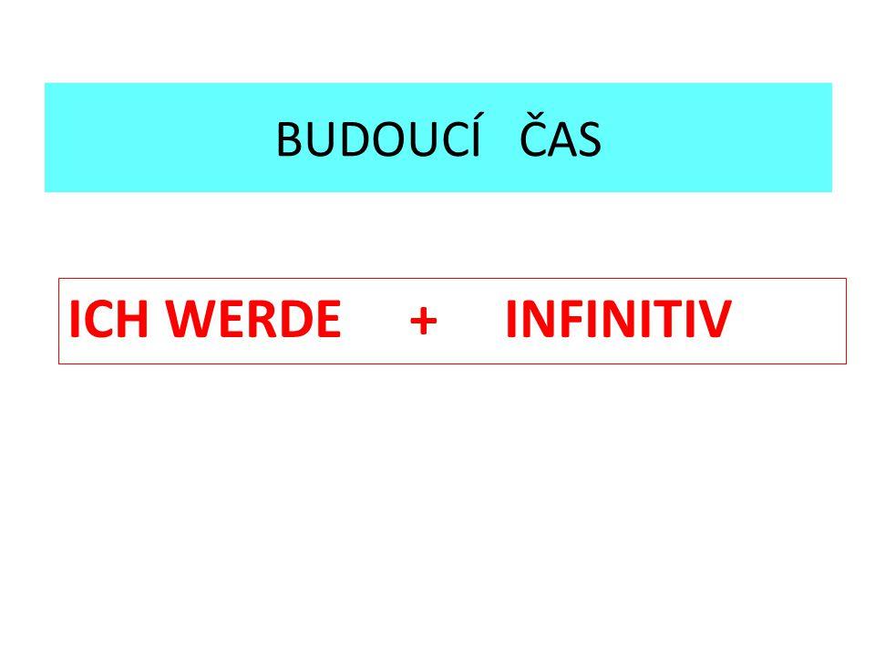 Znáš základní význam slovesa WERDEN?
