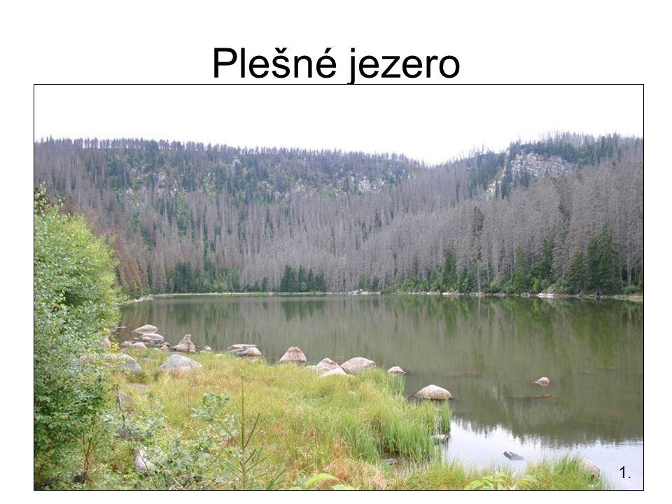Plešné jezero 1.