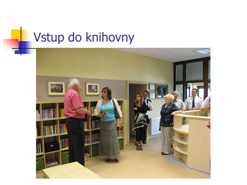 Prezentace knihovnice
