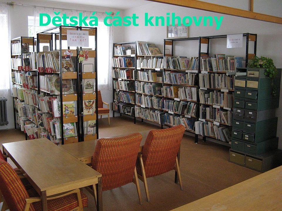 Dětská část knihovny